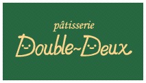 patisserie Double-Deux ショップカード 表裏